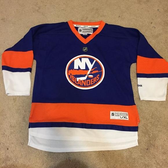 best loved 0ea09 9d420 NHL Reebok New York Islanders jersey youth L XL